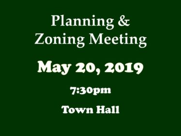 05-20-19 P&Z meeting