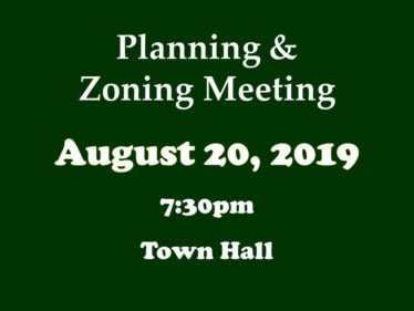 08-20-19 P&Z meeting