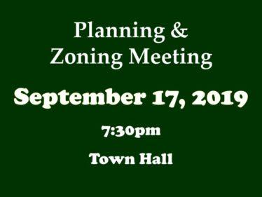 09-17-19 P&Z meeting