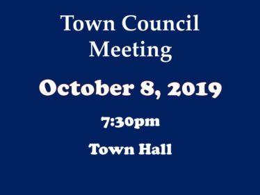 10-8-19 council meeting
