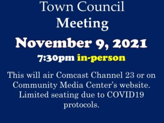 11-9-21 council meeting in-person