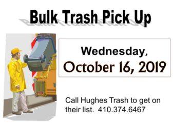 2019 Bulk Trash October