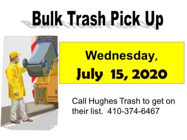 2020 Bulk Trash July