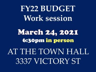 3-24-21 Budget worksession in-person