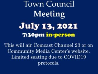 7-13-21 council meeting in-person