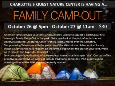 FAMILY CAMPOUT Oct