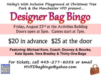 HAILEY'S WISH basket bingo 8-23-19