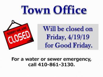 Holiday closings April 19