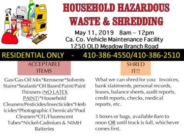 Household Hazardous 5-11-19