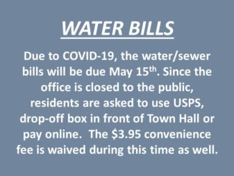 WATER BILLS AND PAYMENT OPTIONS
