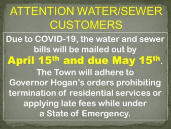 WATER SEWER BILL DUE DATE