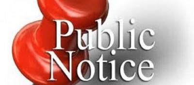 public notice photo