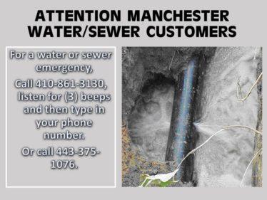 water leak info'