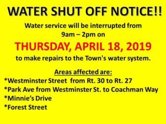 water service repair 4-18-19