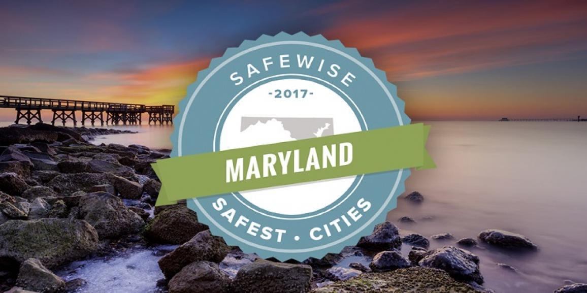 #2 SAFEST CITY IN MARYLAND